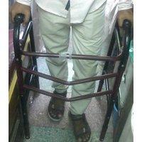SRM (Best Health) Folding Walker with Height Adjustment