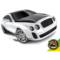 Hot Wheels Cars - Bentley Continental Supersports White