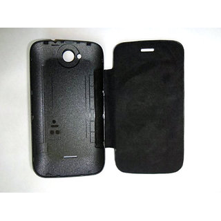 Micromax Bolt A47 Flip Cover available at ShopClues for Rs.180