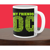 Personalized Coffee Mug For Friendship Day