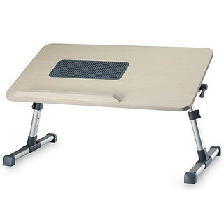 Foldable Notebook Laptop Table Bed having MDF Top Cooling Fan available at ShopClues for Rs.1599