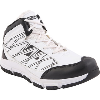 Yepme Evo Sports Shoes - Black & White