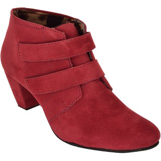 Exotique Womens Maroon Casual Boot (EL0031MN)