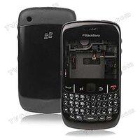 OEM Blackberry 8520 Curve Housing Faceplate Cover Case Body - Black