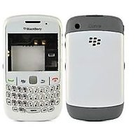 High Quality Blackberry 8520 Curve Housing Faceplate Cover Case Body - White