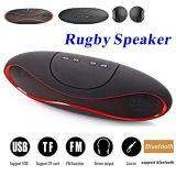 Micromax Canvas Turbo A250COMPATIBLE MINI Bluetooth Multimedia Speaker System with FM / Pen Drive / SD Card - Rugby Mini X1461