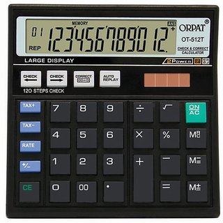 Orpat OT-512T Check Correct Calculator