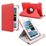 Callmate 360' Rotation Case For P3100, P3110 With Free Screen Guard - Red