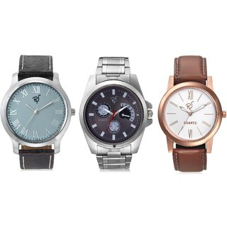 Rico Sordi mens set of 3 watches combo(RSW101)