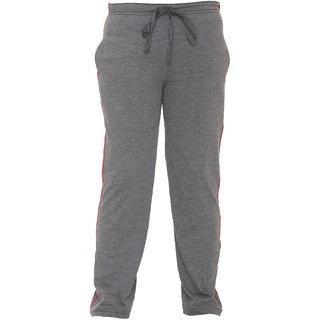 Vimal Dark Grey Cotton Blended Trackpant For Girls