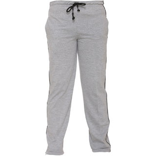 Vimal Gray Melange Cotton Blended Trackpant For Girls