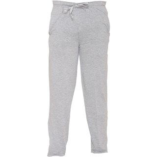 Vimal Gray Melange Cotton Blended Trackpant For Girls
