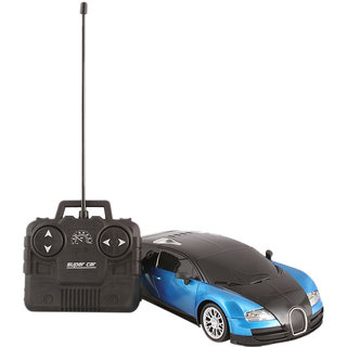 Bugatti Veyron Rechargeable Remote Control 1 24 Model Car (Black-Blue Black-Red)