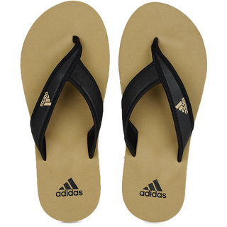 Adidas Mens Khaki Flip Flops