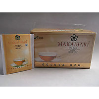 MAKAIBARI GOLDEN BRU (PREMIUM QUALITY DARJEELING TEA).PACK OF 2,25X2 =50 Tea Bag