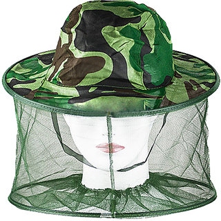 Futaba Mosquito Net Mesh Head Face Protector Hat