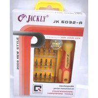 Jackly Tool Kit 32 In 1 JK 6032 A Toolkit 32 Bits MODEL JK 6032-A