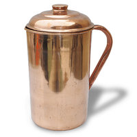 Copper Jug With Lid Indian Copper Utensils