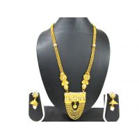 7 Line Chain Pendant Necklace Set