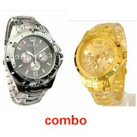 Rosra watch Combo Silver And Gold