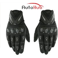 Auto Hub Premium Leatherette Scoyco Biker's Riding Gloves (MC-10) (XL)