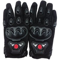 Auto Hub Scoyco Bike Riding Gloves Set - (Extra Large , Black)