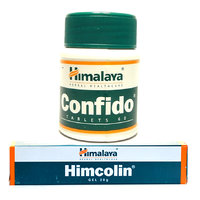 Combo Pack of Himalayas Himcolin Gel 4 Pcs of 30gm, Confido Tablet 60s x 5 pcs