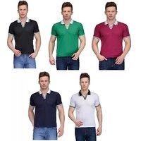 Rico Sordi set of 5 polypolo t-shirt combo(RSD1114set of 5)