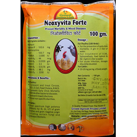 Neoxyvita Forte - Anti Bacterial  Infection Treatment for Birds   Farm Animals-100 gm