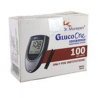 100 Test Strips for Dr.Morepen Gluco One BG03 Meter
