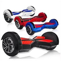 hoverboard self balancing electric scooter with bluetooth speaker music LED