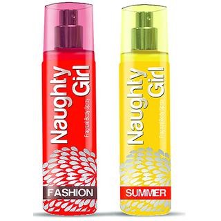 Naughty Girl FASHION SUMMER Perfume Combo For Women (1200 Sprays Each)