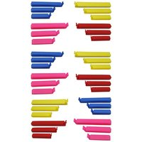 36Pc Different Size BPA Free Plastic Food Snack Bag Pouch Clip