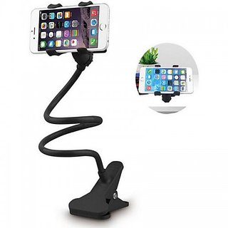 Flexible Long Lazy Mobile Phone Holder Metal Stand For Bed Desk Table