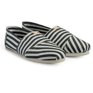 Juan David Men Black Slip on Casual Shoes