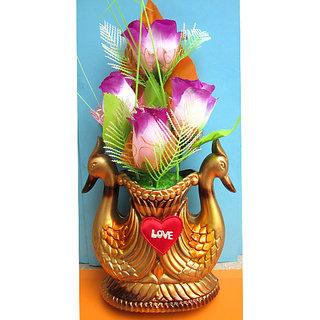 Fancy Peacock Flower Pot