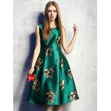 Royal Fashion A Line Green Pri...