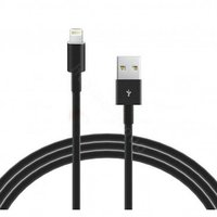 MiLi USB Lightning Cable - 2MTR For Iphone  (Black)