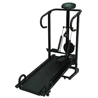 LIFELINE 4 IN 1 MANUAL TREADMILL JOGGER WITH 3 LEVEL MANUAL INCLINE available at ShopClues for Rs.11450