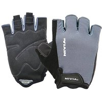 Nivia Python Gym Gloves, Medium (Black)