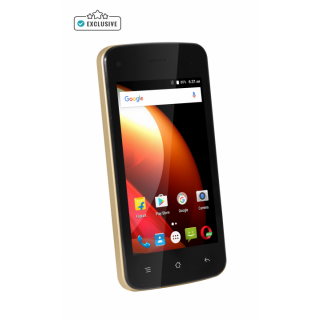 Swipe Konnect Star (4G VOLTE,1GB+ 16GB, Gold Color, with 12 Regional Languages) By Shopclues @ Rs.3,799