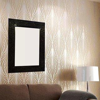 Onlineshoppee MDF Decorative Wall Mirrorr Size(LxBxH-17x1x23) Inch