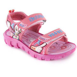 ACTION SHOES DOTCOM KIDS SANDALS KS-123 PINK