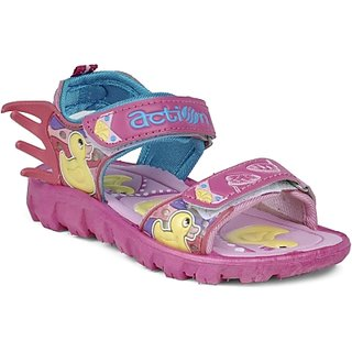 ACTION SHOES DOTCOM KIDS SANDALS KS-124 PINK