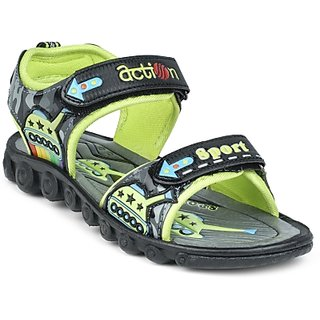 ACTION SHOES DOTCOM KIDS SANDALS KS-510-GREEN