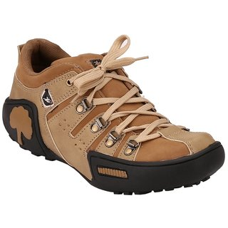 Afrojack Mens Beige Lace-up Outdoors