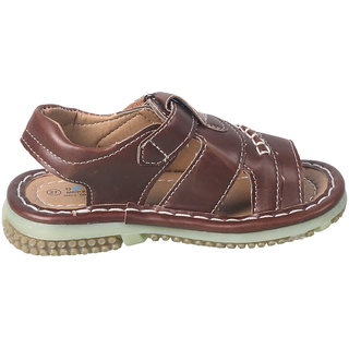ACTION SHOES DOTCOM KIDS SANDALS 99210-BROWN