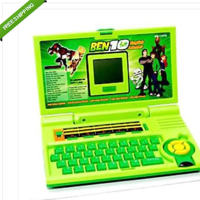 BEN 10 KIDS ENGLISH LEARNER LAPTOP WITH MOUSE 20 ACTIVITIES TOYS EDUCATIONAL
