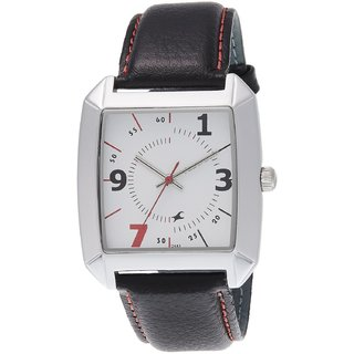 Fastrack NE9336SL01A Black/White Analog Watch