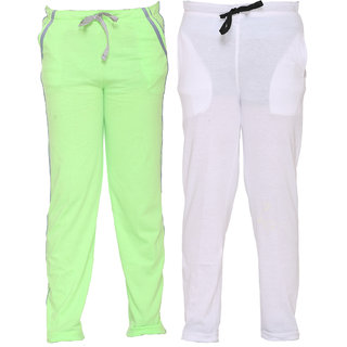 Vimal Multicolor Cotton Blended Trackpants For Girls(Pack Of 2)